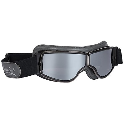 Lunettes Aviator Goggle T2 Gris Gun Miroir Argent