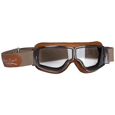 Lunettes Aviator Goggle T2 Marron Camel Chrome