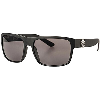 Lunettes West Coast Choppers WTF matte black smoke