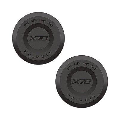 Caches noirs Nexx X70