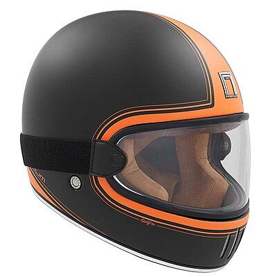 Casque Nox Premium Rage Spitfire orange mat