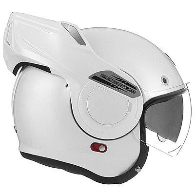 Casque convertible Nox Premium Stratos blanc perle
