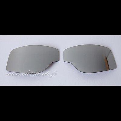 Oculaires Miroir Argent  pour  Goggle Aviator T1 T2 et T3