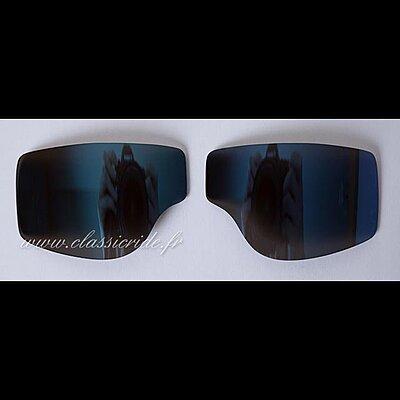 Oculaires Miroir Bleu pour  Goggle Aviator T1 T2 et T3