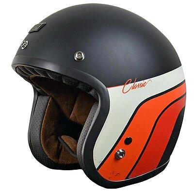 Casque Jet Roeg Helmet Green Gloss Vert Brillant homologu/é ECE Biker Custom M Green Gloss