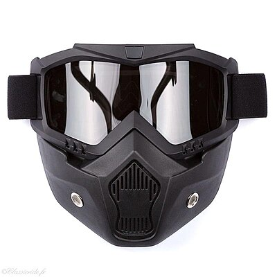 Masque Stormer R-Mask Pearl Black