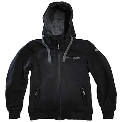 Sweat moto femme Harisson Patriot noir