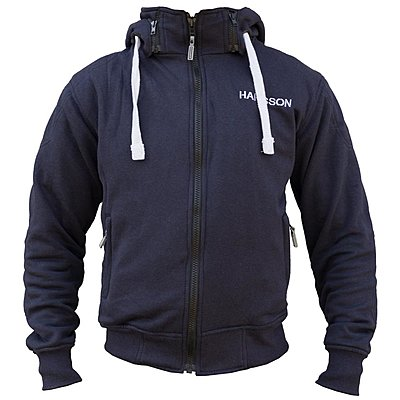 Sweat moto Harisson Patriot bleu marine