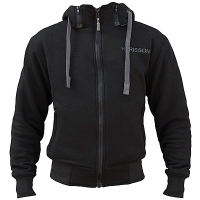Sweat moto Harisson Patriot noir