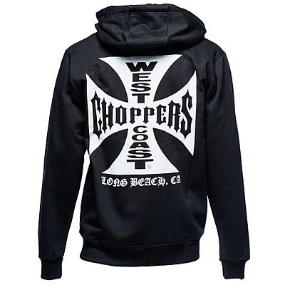 Sweat West Coast Choppers OG classic hoody zip black
