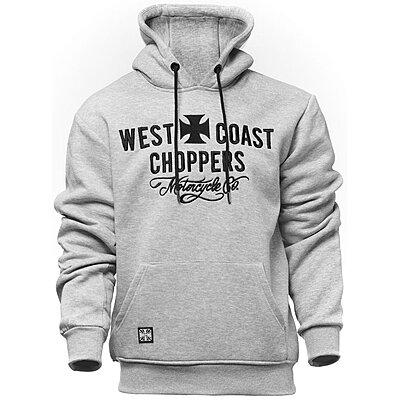 Sweat West Coast Choppers Motorcycle co hoody grey