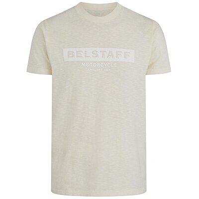 Tee shirt Belstaff Hillary écru