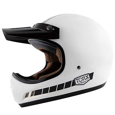 Casque Torx Brad Legend Racer White shiny