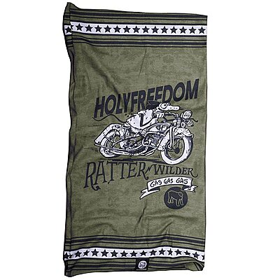 Tour de cou moto Holy Freedom Mr. Ratter Wilder Recycled