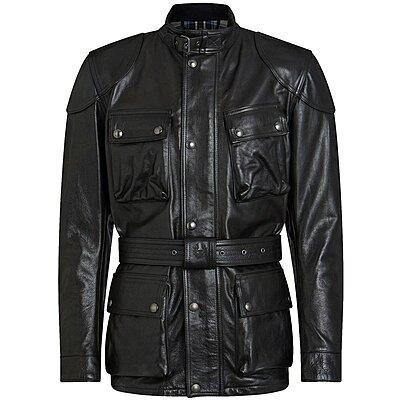 Veste Belstaff Trialmaster Pro cuir antique black