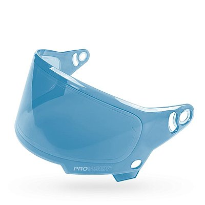 Visière Bell Eliminator shield Hi-Def blue