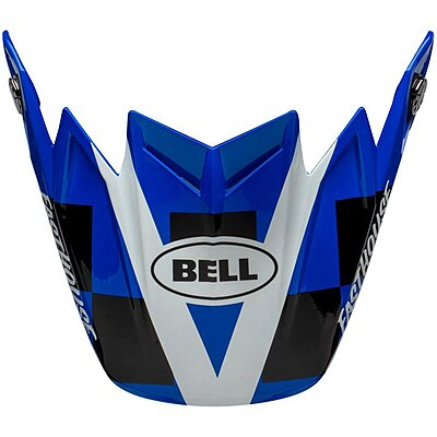 Visière Bell Moto 9 Flex Fasthouse DID 20 gloss blue white