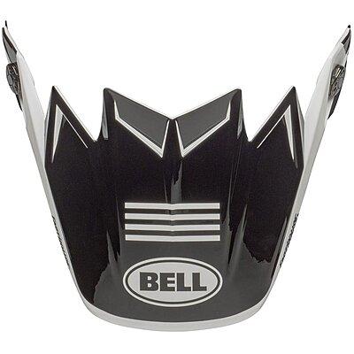 Visière Bell Moto 9 Flex Newhall gloss white black