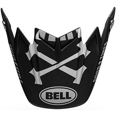 Visière Bell Moto 9 Flex Visor Fasthouse WRWF gloss black white gray