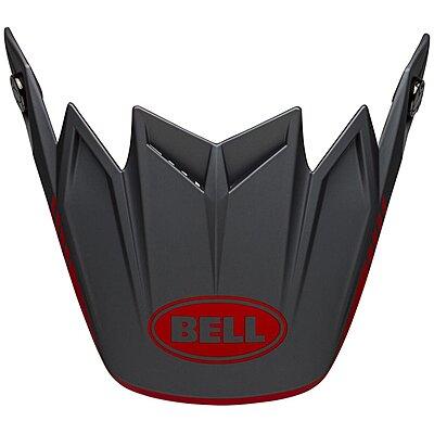 Visière Bell Moto 9 Flex Louver matte gray red