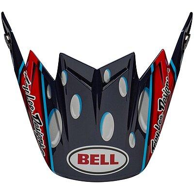 Visière Bell Moto 9 Flex McGrath Replica gloss blue red black
