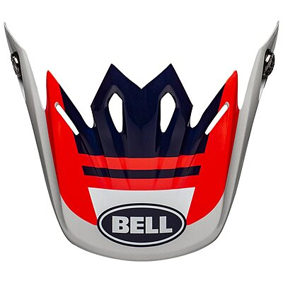 Visière Bell Moto 9 Mips Prophecy gloss infrared navy gray