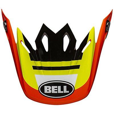 Visière Bell Moto 9 Mips Prophecy gloss yellow orange black