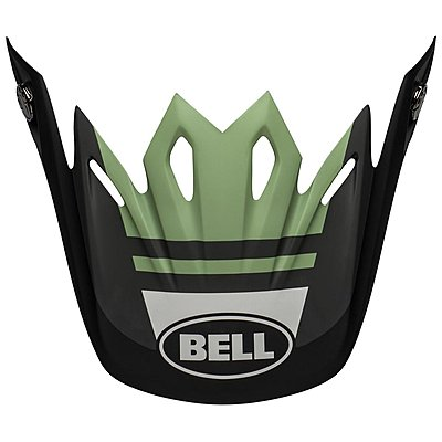 Visière Bell Moto 9 Mips Prophecy matte black dark green