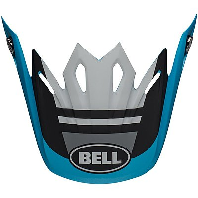 Visière Bell Moto 9 Mips Prophecy matte white black blue