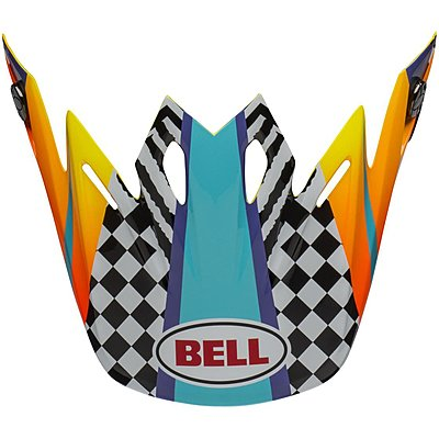 Visière Bell Moto 9 Mips Tagger Breakout orange yellow