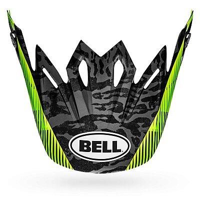 Visière Bell Moto 9 Visor chief matte gloss black white green