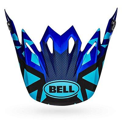Visière Bell Moto 9 Visor tremor matte gloss blue black