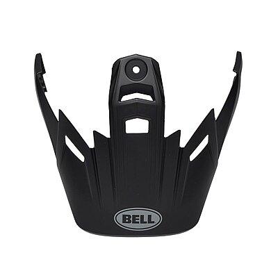 Visière Bell MX 9 Adventure Visor solid black, noir brillant