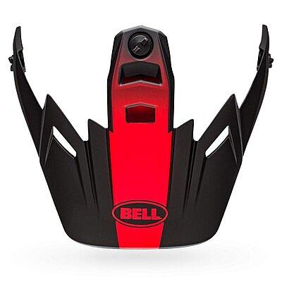 Visière Bell MX 9 Adventure Visor switchback matte black red white
