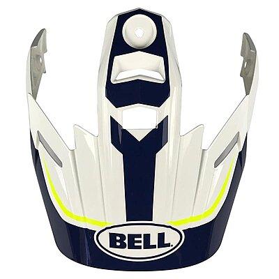 Visière Bell MX 9 Adventure Visor torch white blue yellow