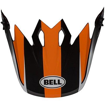 Visière Bell MX 9 Mips Dash black orange