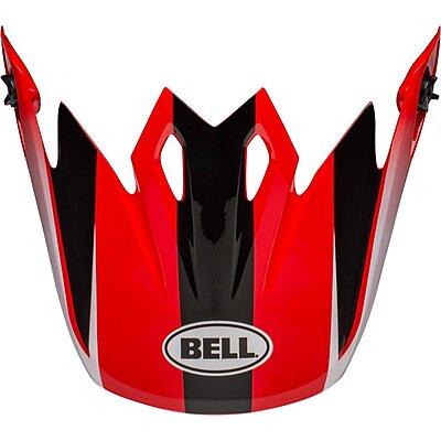 Visière Bell MX 9 Mips Dash black red