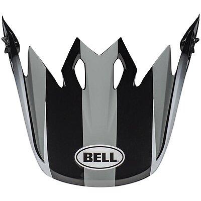 Visière Bell MX 9 Mips Dash gray black white