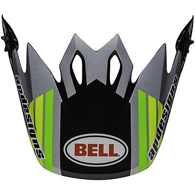 Visière Bell MX 9 Mips Pro Circuit 2020 black green
