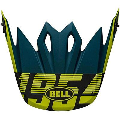 Visière Bell MX 9 Mips Strike matte blue yellow