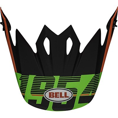 Visière Bell MX 9 Mips Strike matte infrared green black
