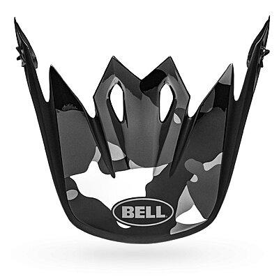 Visière Bell MX 9 Visor presence matte gloss black titanium camo