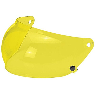Visière Biltwell Gringo S Anti-fog Bubble Shield Yellow