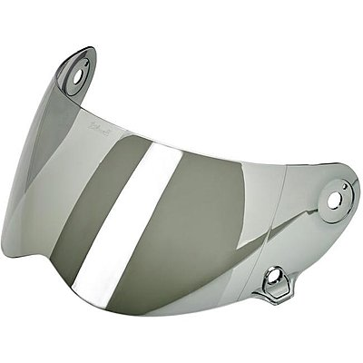 Visière Biltwell Lane Splitter anti-fog shield chrome mirror