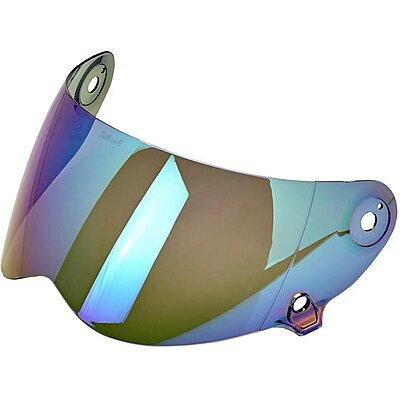 Visière Biltwell Lane Splitter anti-fog shield rainbow mirror