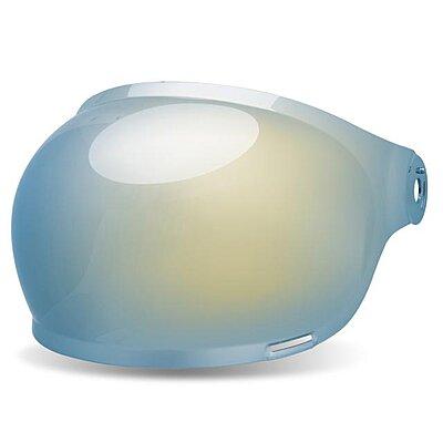 Visière casque BELL Bullitt - Bubble Iridium Bleu