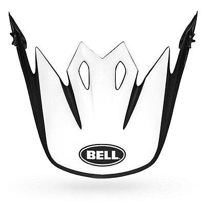 Visière Bell MX 9 Visor presence matte gloss black white