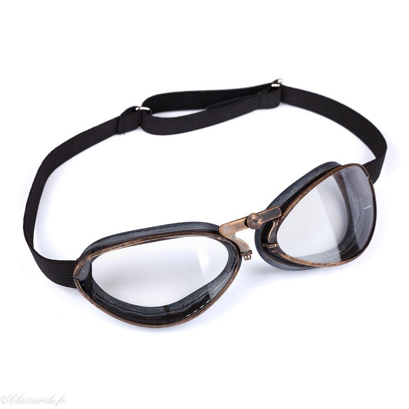 2e9ad30656d15 Aviator Goggle-4600-Viel-Or-Pneu-Lunettes-Moto-Aviateur
