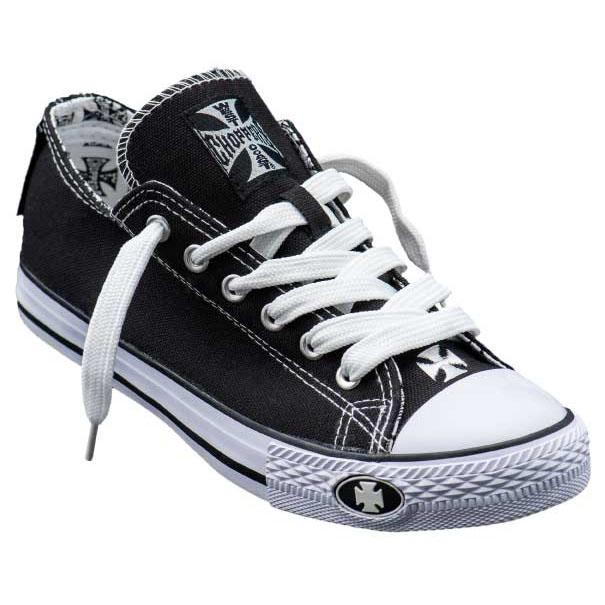 Converse Black Coast Choppers Baskets Warrior West Low Top Moto v0Yqa7