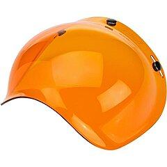 Visière Biltwell bubble shield anti-fog amber